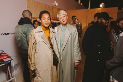 LVMH PRIZE 2019 COCKTAIL - TAMU MCPHERSON AND ELISA NALIN © VIRGILE GUINARD