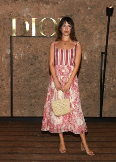 MARRAKECH, MOROCCO - APRIL 29: Jeanne Damas attends the Christian Dior Couture S/S20 Cruise Collection on April 29, 2019 in Marrakech, Morocco. (Photo by Pascal Le Segretain/Getty Images for Dior)