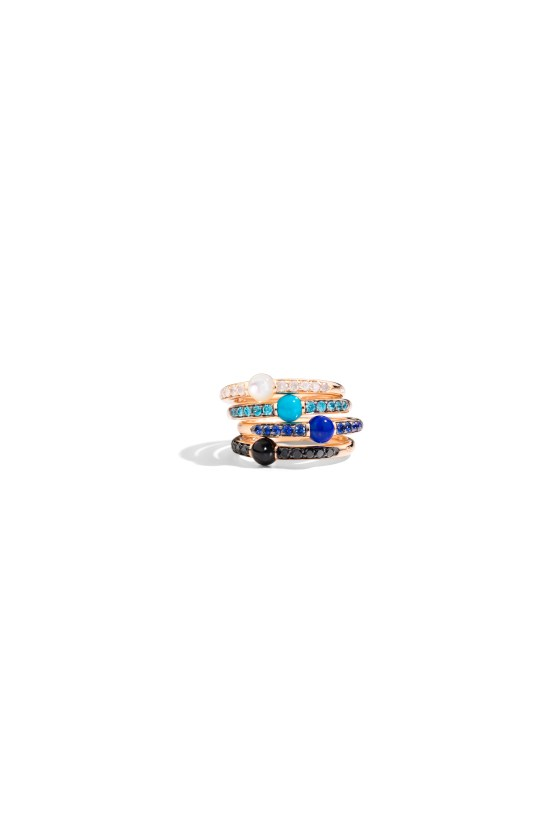 M'ama Non M'ama rings with mineral gems by Pomellato (2)