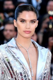 "CANNES, FRANCE - MAY 16: Sara Sampaio attends the screening of ""Rocket Man"" during the 72nd annual Cannes Film Festival on May 16, 2019 in Cannes, France. (Photo by Dominique Charriau/WireImage)"