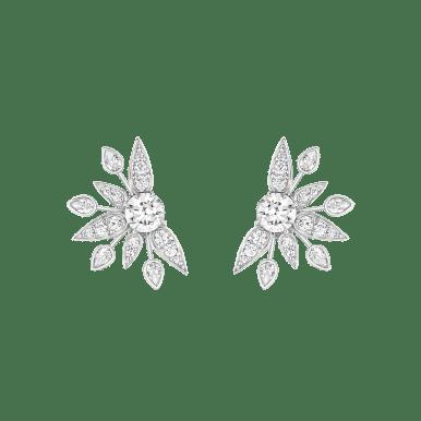 Bo - argt rhodié, Burmalite blanche - Burma - 390€