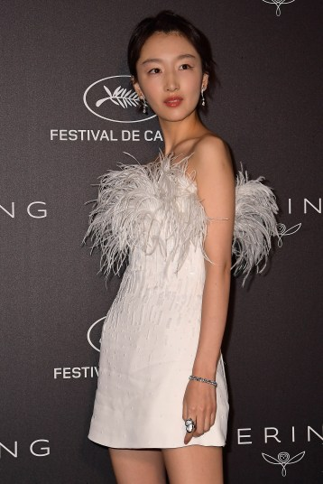 CANNES, FRANCE - MAY 19: Zhou Dongyu attends the Kering Women In Motion Awards during the 72nd annual Cannes Film Festival on May 19, 2019 in Cannes, France. (Photo by Matt Winkelmeyer/Getty Images)