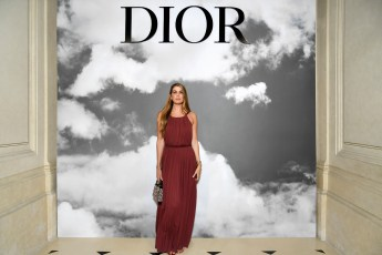 PARIS, FRANCE - JULY 01: Bianca Brandolini d'Adda attends the Christian Dior Haute Couture Fall/Winter 2019 2020 show as part of Paris Fashion Week on July 01, 2019 in Paris, France. (Photo by Pascal Le Segretain/Getty Images for Dior)