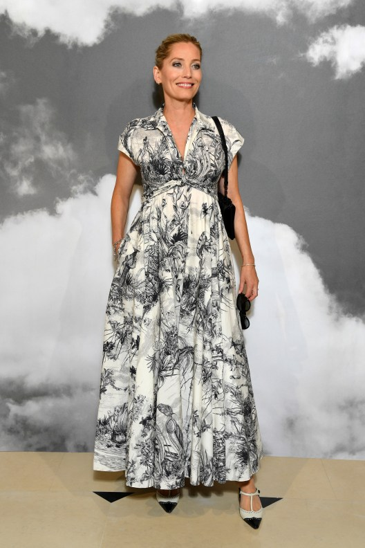 PARIS, FRANCE - JULY 01: Lucie de la Falaise attends the Christian Dior Haute Couture Fall/Winter 2019 2020 show as part of Paris Fashion Week on July 01, 2019 in Paris, France. (Photo by Pascal Le Segretain/Getty Images for Dior)
