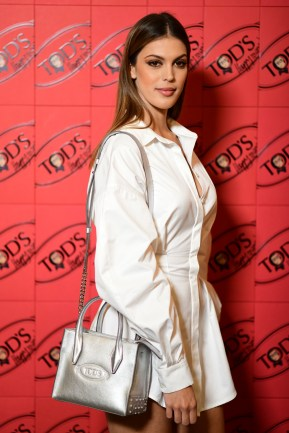 PARIS, FRANCE - JULY 02: Iris Mittenaere attends Tod's X Alber Elbaz Happy Moments at Yoyo Palais De Tokyo on July 02, 2019 in Paris, France. (Photo by Anthony Ghnassia/WireImage)