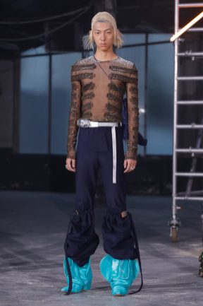 Runway look from the Christian Stone Fashion Show Ready to wear Collection spring Summer 2020 in Paris