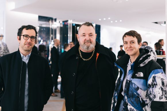 Michel Gaubert & Sarah and Philip Andelman The Dior Sessions book signing 21.11.19
