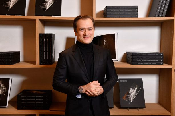 PARIS, FRANCE - NOVEMBER 21: Renaud Capucon attends Dior Sessions Book Signing on November 21, 2019 in Paris, France. (Photo by Francois Durand/Getty Images for Dior)