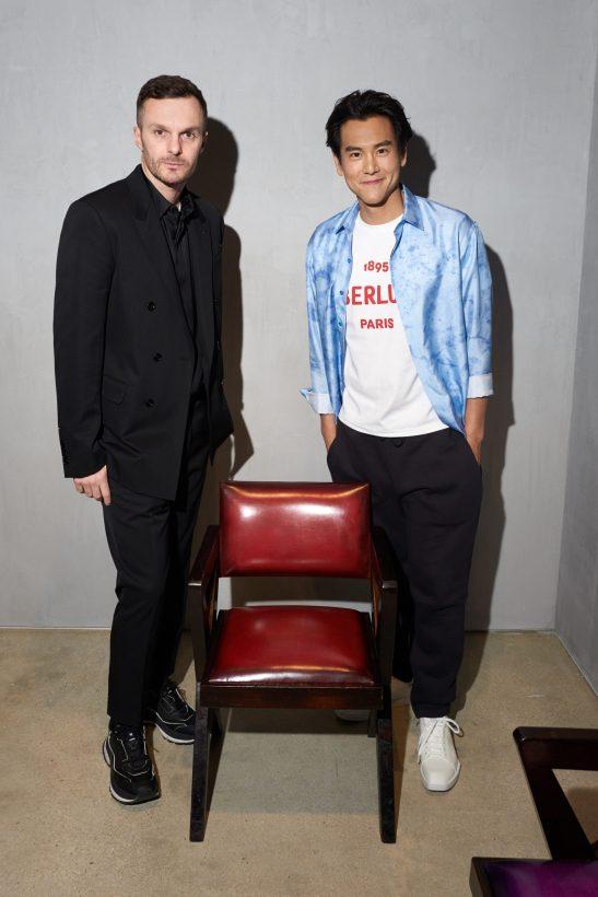 Kris Van Assche & Eddie Peng (2)
