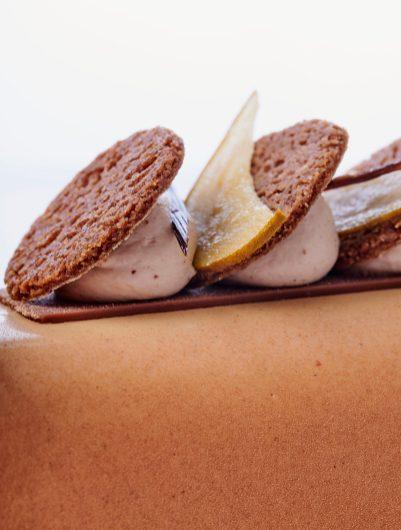 buche glacé marguerite white - 5