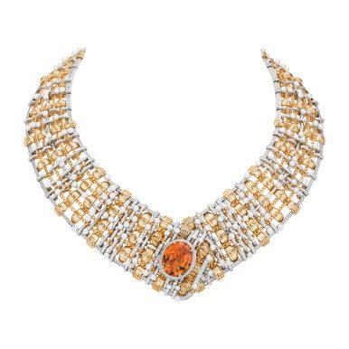 Tweed d'Or Necklace-hd