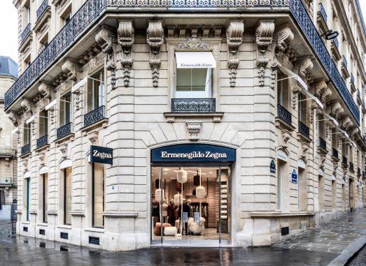 Ermenegildo Zegna - Paris Flagship Store