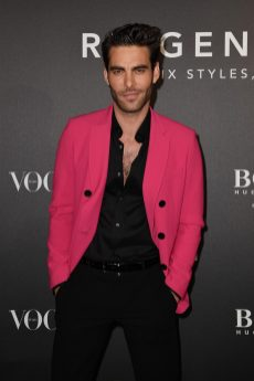 MILAN, ITALY - FEBRUARY 21: Jon Kortajarena arrives for the BOSS & VOGUE Italia Event at Hotel Viu Milan on February 21, 2020 in Milan, Italy. (Photo by Jacopo M. Raule/Getty Images for Boss)