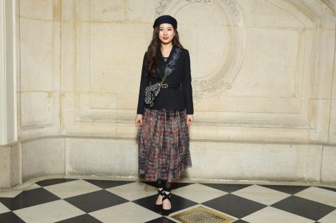 PARIS, FRANCE - FEBRUARY 26: Suzy Bae attends the Christian Dior show as part of the Paris Fashion Week Womenswear Fall/Winter 2019/2020 on February 26, 2019 in Paris, France. (Photo by Pascal Le Segretain/Getty Images)