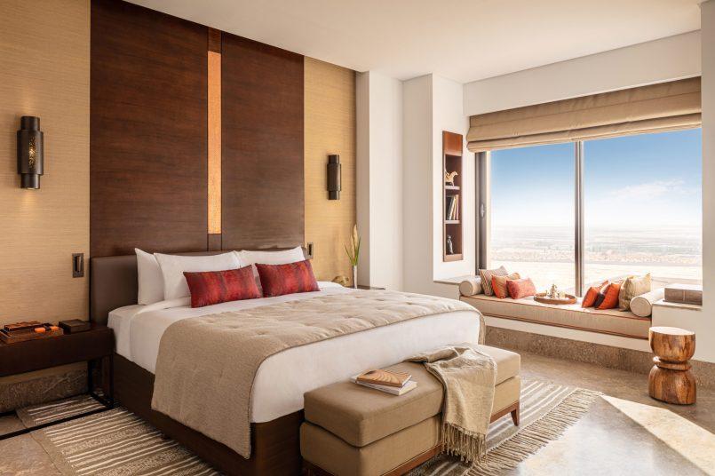 Anantara Tozeur One Bed Pool Villa Bedroom