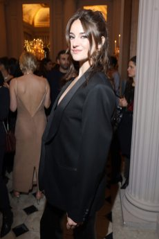 PARIS, FRANCE - FEBRUARY 29: Shailene Woodley attends the Monot show as part of the Paris Fashion Week Womenswear Fall/Winter 2020/2021 on February 29, 2020 in Paris, France. (Photo by Victor Boyko/Getty Images)