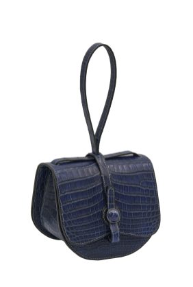 Maddie - Crocodile Indigo - Navy blue