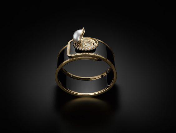 H6471- MADEMOISELLE PRIVÉ BOUTON Ganse de Diamant - 10