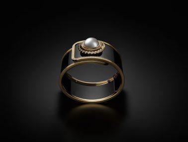 H6471- MADEMOISELLE PRIVÉ BOUTON Ganse de Diamant - 11