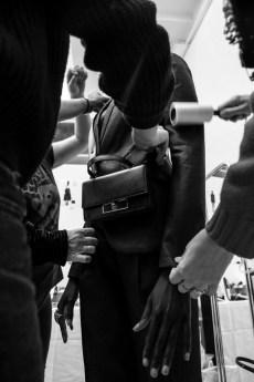 The Mini Skull Lock Bag (BTS photo by Adama Jalloh) 1