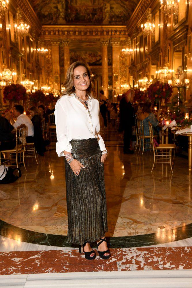 ROME, ITALY - SEPTEMBER 14: Lucia Silvestri attends Bulgari Barocco on September 14, 2020 in Rome, Italy. (Photo by Daniele Venturelli/Getty Images for Bulgari)