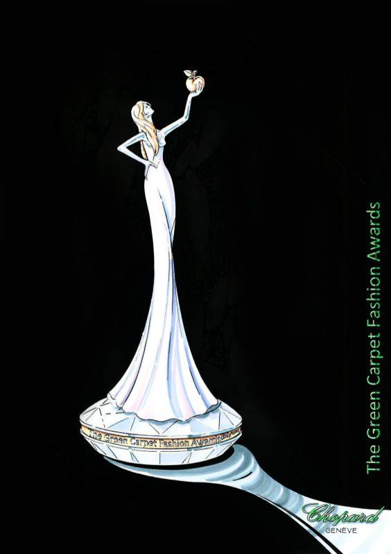 Green Carpet Fashion Awards, Italia 2020 - Award sketch
