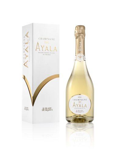 Le Blanc de Blancs 2014 de Champagne Ayala - coffret