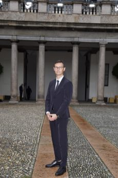 MILAN, ITALY - SEPTEMBER 25: Heiko Schaefer attends the BOSS Fashion Show during the Milan Fashion Week Spring/Summer 2021 on September 25, 2020 in Milan, Italy. (Photo by Stefania M. D'Alessandro/Getty Images for HugoBoss)