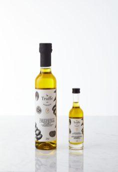 Huile d'olive extrait de Truffe blanche d'Alba Tuber magnatum pico 1% - La Truffe par Petrossian