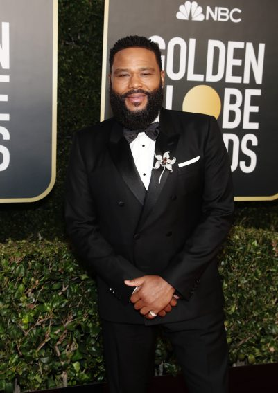 BEVERLY HILLS, CALIFORNIA: 78th Annual GOLDEN GLOBE AWARDS -- Pictured: Anthony Anderson attends the 78th Annual Golden Globe Awards held at The Beverly Hilton and broadcast on February 28, 2021 in Beverly Hills, California. -- (Photo by Todd Williamson/NBC/NBCU Photo Bank via Getty Images)