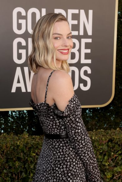BEVERLY HILLS, CALIFORNIA: 78th Annual GOLDEN GLOBE AWARDS -- Pictured in this image released on February 28, Margot Robbie attends the 78th Annual Golden Globe Awards held at The Beverly Hilton and broadcast on February 28, 2021 in Beverly Hills, California. -- (Photo by Todd Williamson/NBC/NBCU Photo Bank via Getty Images)
