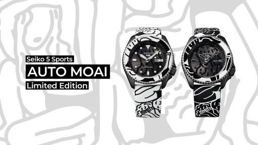 Seiko 5 Sports x AUTO MOAI