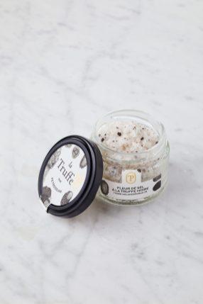 Fleur de sel truffe noire Tuber melanosporum 2% - La Truffe par Petrossian