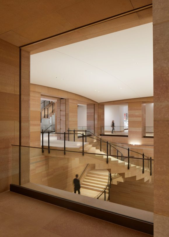 IMAGE 12 - View from level one, looking across the Williams Forum stairs - Steve Hall © Hall + Merrick Photographers, 2021
