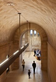 IMAGE 25 - View to the North Lobby from the Vaulted Walkway - Steve Hall © Hall + Merrick Photographers