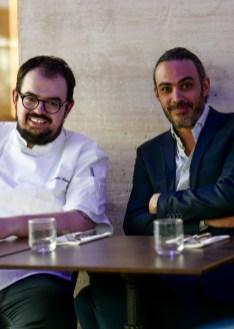 Portrait Chef Alexandre Hamon et Anthony Sebag