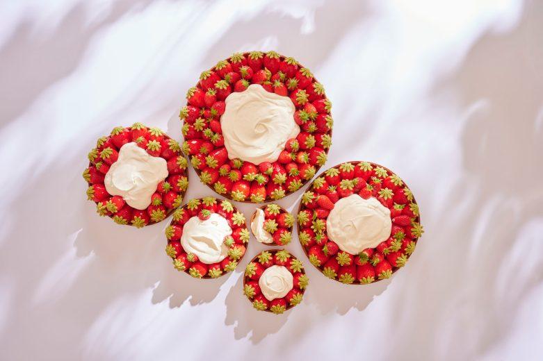 Tartes aux fraises - Ritz Paris Le Comptoir - @Bernhard Winkelmann