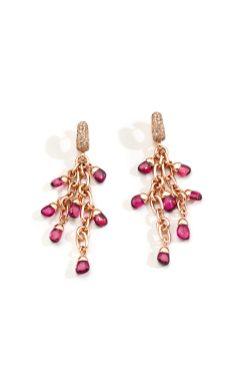 52. LA GIOIA di Pomellato_RED TOURMALINE earrings_2021