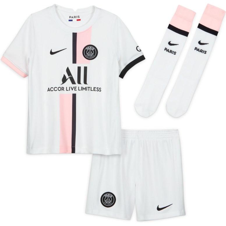 PSG_AWAY STADIUM KIT 2021-22 KIDS_59.99 EUR