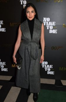 LONDON, ENGLAND - SEPTEMBER 29: Massiel Feliz attends a private screening of 'No Time To Die' hosted by Michael Kors in celebration of the Michael Kors Bond 007 Capsule Collection partnership, at the Everyman Chelsea on September 29, 2021 in London, England. (Photo by David M. Benett/Dave Benett/Getty Images for Michael Kors)