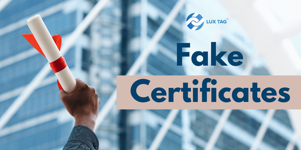 Fighting Fake Certificates with Blockchain Technology