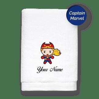 superhero-edition-captain-marvel-luxurious-towels