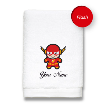 superhero-edition-flash-luxurious-towels