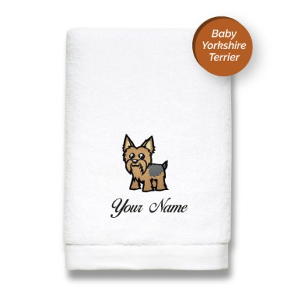 dog-edition-luxurious-towels-YORKSHIRE-TERRIER