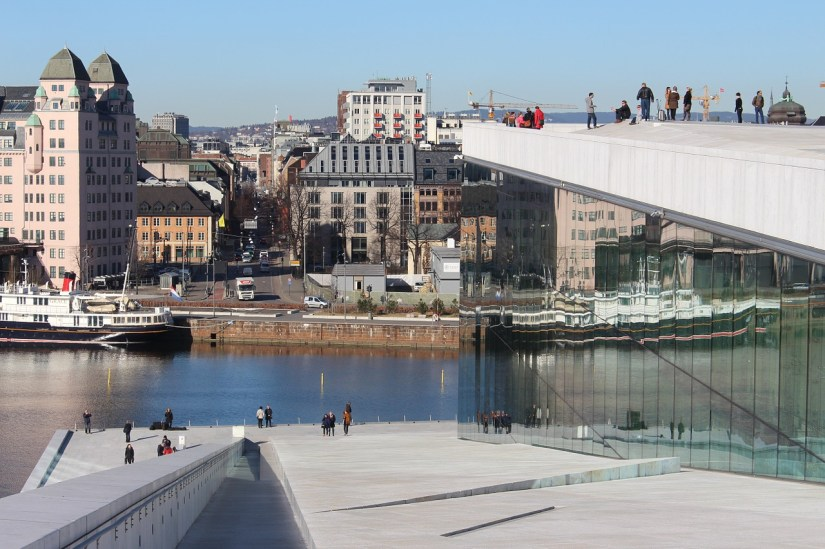 View from the Oslo Opera House