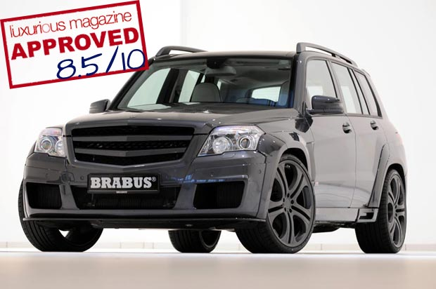 The Brabus GLK V12 gets the Luxurious Magazine seal of approval