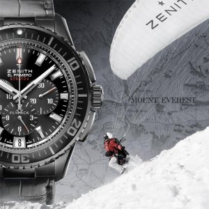 Antoine Cina and Zenith Watches climb to the top of the world