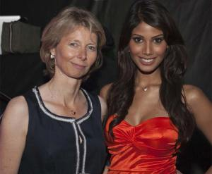 Aletta Stas with Nicole Faria at Frederique Constant