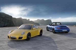 Porsche is the big winner of the Sportiest Car of 2011 readers survey.