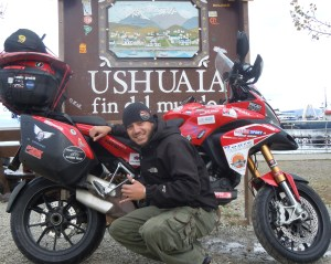 Paolo Pirozzi complete his round the world trip on his Ducati Multistrada 1200s after 350 days, eight sets of tyres and nearly 100,000 km.